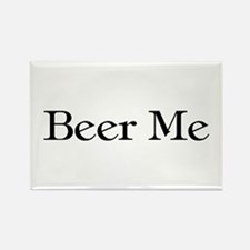 Beer Me Rectangle Magnet