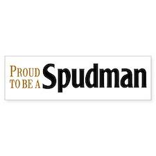 Proud To Be A Spudman Bumper Bumper Sticker