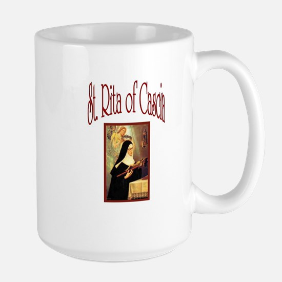 St. Rita of Cascia Large Mug