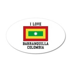 I Love Colombia Wall Decal