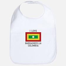 I Love Colombia Bib