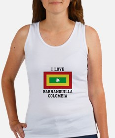 I Love Colombia Tank Top