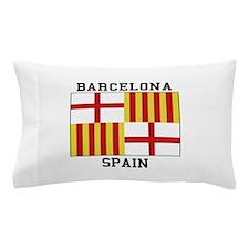 Barcelona Spain Pillow Case