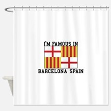 Famous In Spain Shower Curtain