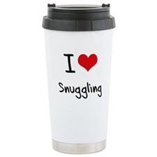 Cute Curl Travel Mug