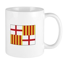 Barcelona, Spain Flag Mugs