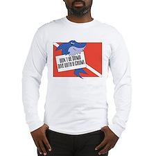 Shark Diving Long Sleeve T-Shirt