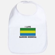 I Love Indonesia Bib