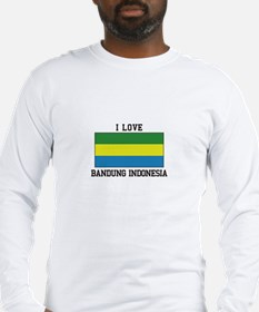 I Love Indonesia Long Sleeve T-Shirt