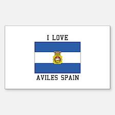 I Love Spain Decal