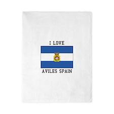I Love Spain Twin Duvet