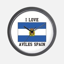 I Love Spain Wall Clock