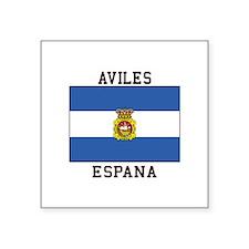 Aviles Espana Sticker