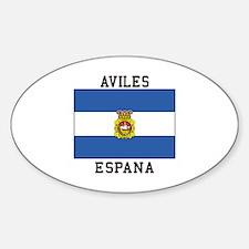 Aviles Espana Decal