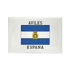 Aviles Espana Magnets
