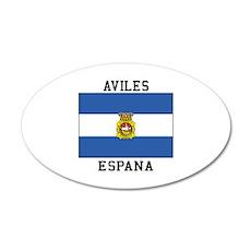 Aviles Espana Wall Decal