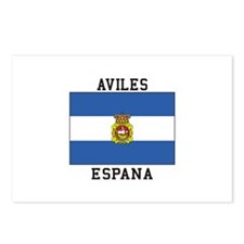 Aviles Espana Postcards (Package of 8)