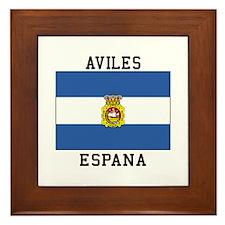 Aviles Espana Framed Tile