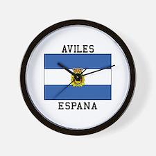 Aviles Espana Wall Clock