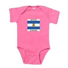 Aviles Espana Baby Bodysuit