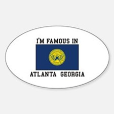 Famous In Atlanta Decal
