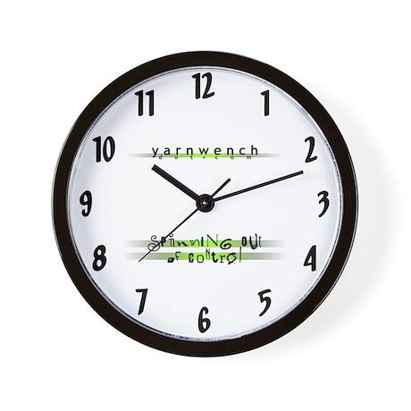 Yarn Wench Wall Clock