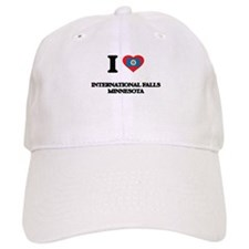 I love International Falls Minnesota Baseball Cap