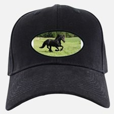 Cool Friesian horse Baseball Hat