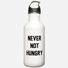 Never Not Hungry Water Bottle