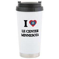 I love Le Center Minnes Travel Coffee Mug