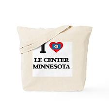 I love Le Center Minnesota Tote Bag