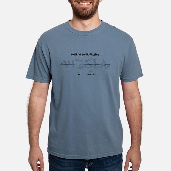 10x10-top_walkies_black_noBG T-Shirt