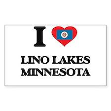 I love Lino Lakes Minnesota Decal