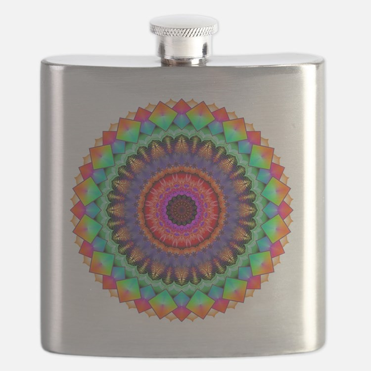 A Rainbow in Light Flask