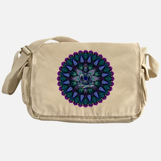 The Evening Light Buddha Messenger Bag