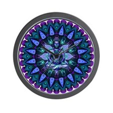 The Evening Light Buddha Wall Clock