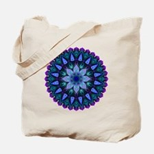 Evening Light Mandala Tote Bag