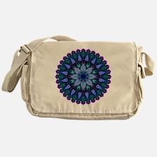 Evening Light Mandala Messenger Bag