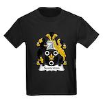 Somerton Family Crest Kids Dark T-Shirt