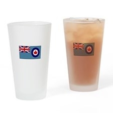 Canadian Air Force Flag Drinking Glass