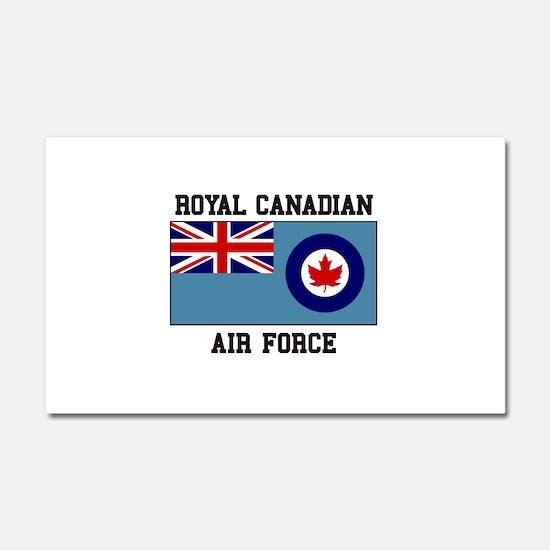 Canadian Air Force Car Magnet 20 x 12