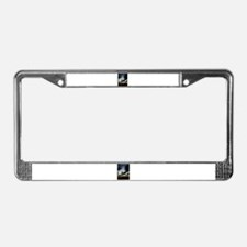 Sunset Clouds over Lake Erie License Plate Frame