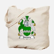 Somers Family Crest Tote Bag