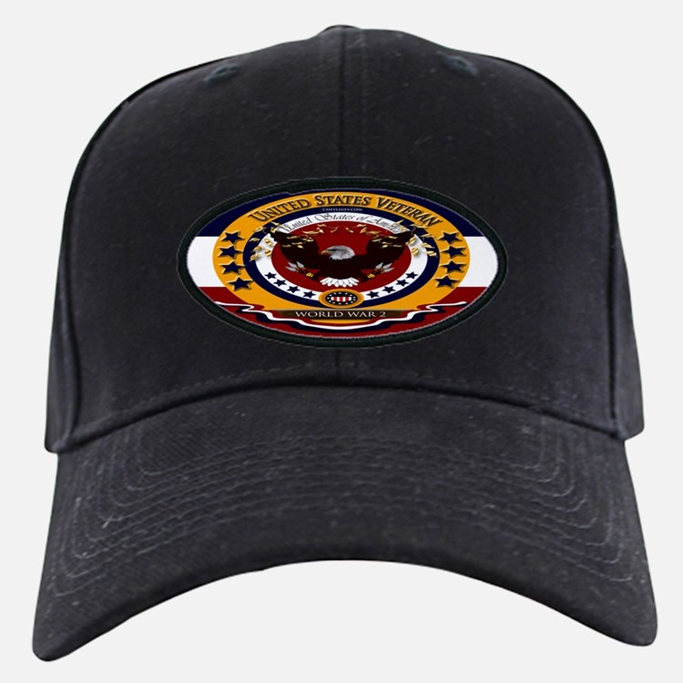 World War 2 Veteran Baseball Hat