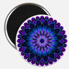 The Evening Light Mandala Magnet