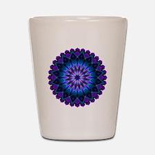 The Evening Light Mandala Shot Glass