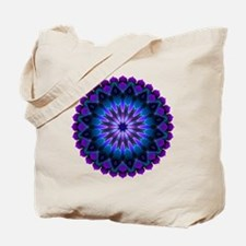 The Evening Light Mandala Tote Bag