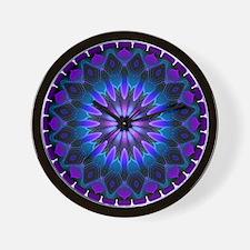 The Evening Light Mandala Wall Clock