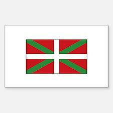 Basque Flag Spain Decal