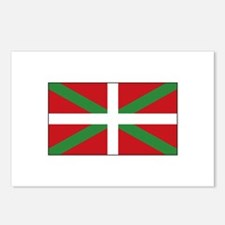 Basque Flag Spain Postcards (Package of 8)
